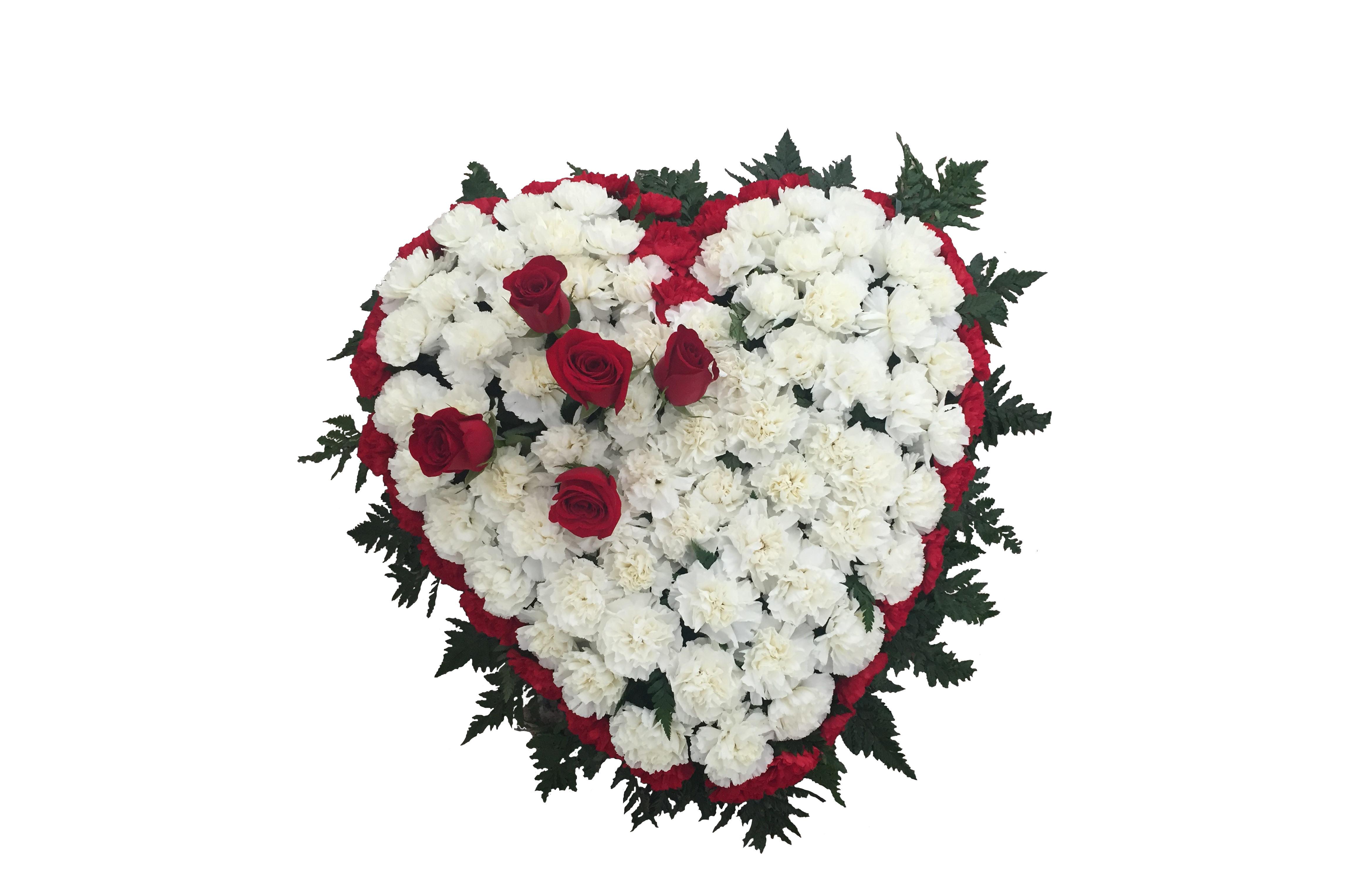 Corazón Rojo y Blanco 100€ y 80€