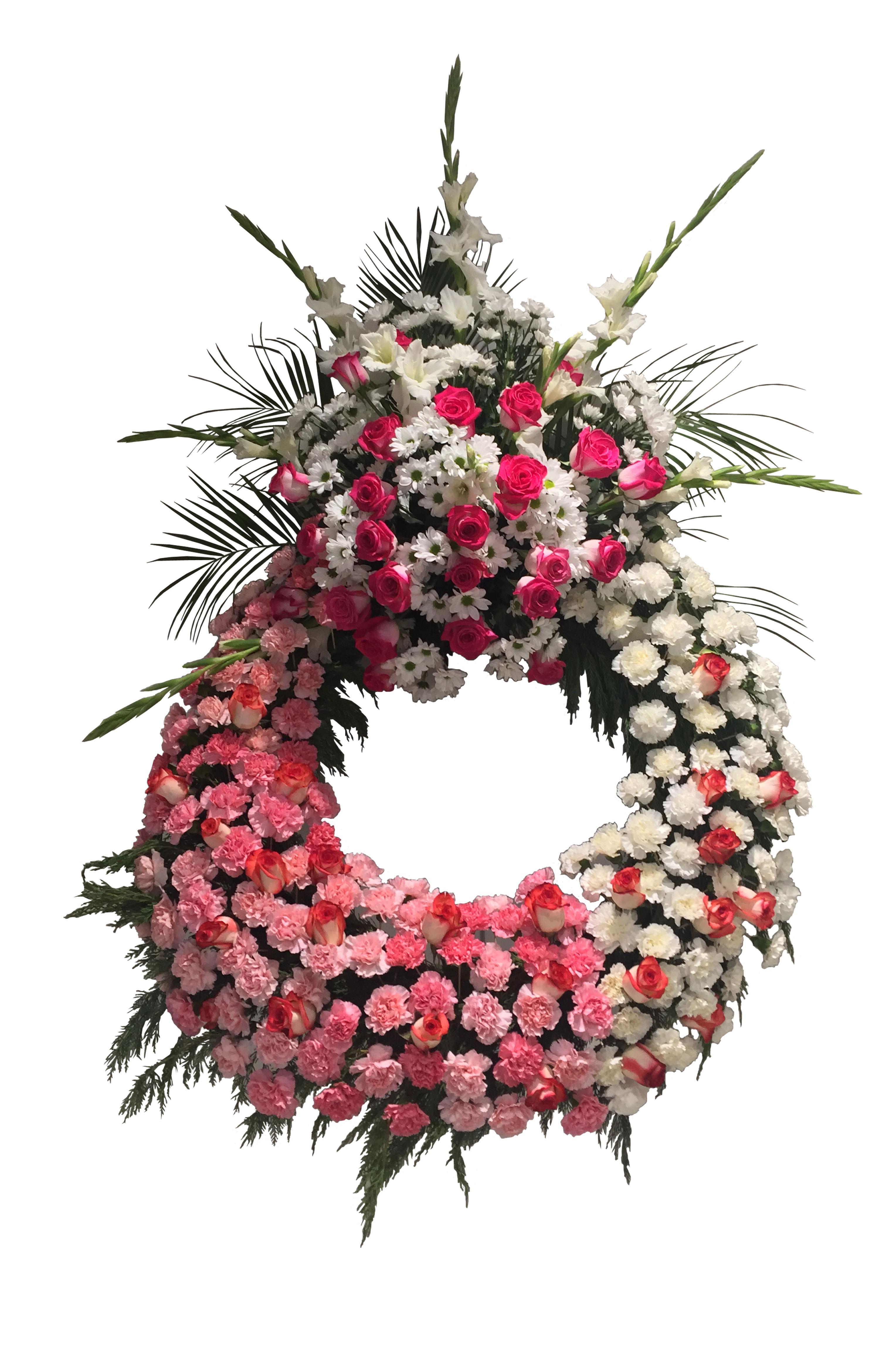 Corona Rosa y Blanca 260€